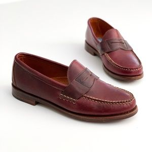 Cole Haan Pinch America Penny Loafer 9M Burgundy